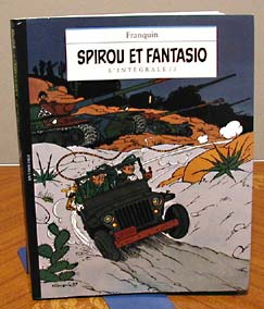 「SPIROU ET FANTASIO L'INTÉGRALE / 3」表紙